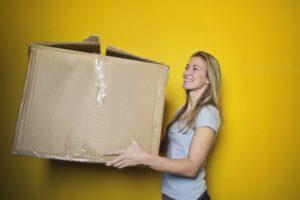 Omgekeerde konmari: doos met spullen die je houdt